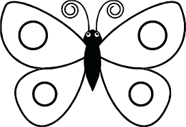 Butterfly Coloring Pages For Preschool Page Butterflies Pictures Kids Unicorn Free Printable