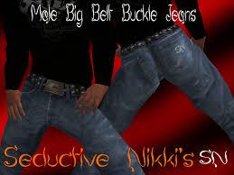 male big belt buckle jeans display seductive nikki u0027s blog
