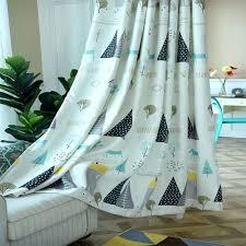 kleines haus druck vorhänge für wohnzimmer tüll küche kinder gardinen baby schlafzimmer und sheer fenster