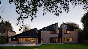 100 Studio Designs Cullinan Designs Cracked Open UK House With Gaps To Let In The Light