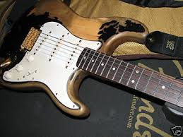 John Mayer Tribute Black Relic DIY Strat Stratocaster Guitar