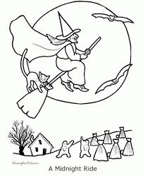 Scary Halloween Witch Coloring Pages by Coloring Pages Cute Halloween Cat And Pumpkin Coloring Pages For