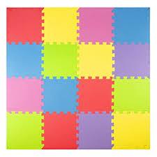Amazon Foam Play Mats 16 Tiles Borders Safe Kids Puzzle