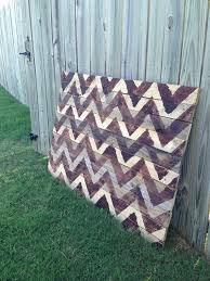 Chevron Pallet Art Reclaimed Wood Holiday Wall By FaithsArrow