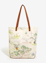 130 Best Winne The Pooh by Loungefly Disney Winnie The Pooh Map Canvas Tote Boxlunch