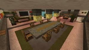 15 Minecraft Dining Room Design Inspirational House Ideas Youtube