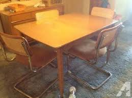 Vintage Matching Dining Room Table An Buffet