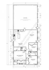 barndominium floor plans 40x60 shop with living quarters steel