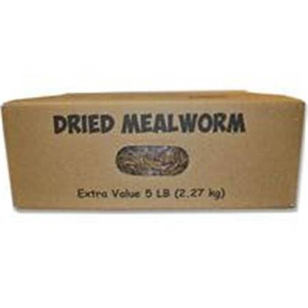Unipet Mealworms to Go Dried Mealworms 5 lb