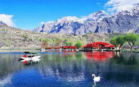 Shangrila Lake Is Part Of The Very Popular Tourist Destination Resort Area