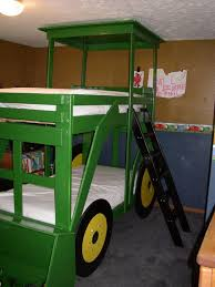 John Deere Bedroom Images by Build Your Kids A Tractor Bunk Bed