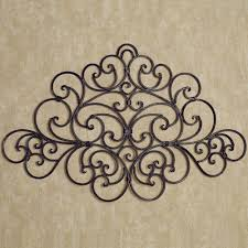 Tuscan Wall Decor Ideas by Stylish Wrought Iron Wall Decor Home Decorations Ideas