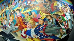 Denver Airport Murals Painted Over by Children Of The World Dream Peace Art At Dia Youtube