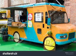 100 Italian Food Truck Madrid Spain 05032018 Stock Photo Edit Now