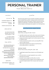 Personal Trainer Resume Sample And Writing Guide | RG Free Resume Templates For 2019 Download Now Pin By Nadine Richards On Jobs Job Resume Examples Examples For Professionals Best Formatced Marketing How To Pick The Format In Listed Type And 200 Professional Samples Housekeeping Sample Monstercom 27 Common Mistakes That Can Lose You Things 20 Executive Cxo Vp Director Resumeple Fresh Graduate Doc Curriculum Vitae Mechanical