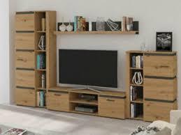 details zu wohnwand litero tv lowboard schrank regal wohnzimmer mediawand rtv neu