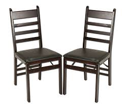 Cosco Mahogany Folding Table And Chairs by Top 5 Best Wooden Folding Chairs In 2017 Reviews