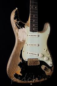 Fender Guitars John Mayer Black One