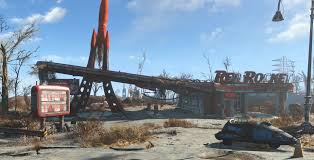 In Fallout 4, The Truck Stop You Meet Dogmeat In Is Called