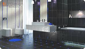 fliesen led 3mm blau fuge licht beleuchtung fugenlicht kreuz fliesenlicht bad
