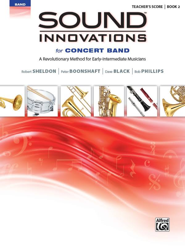 Alfred Sound Innovations for Concert Band Book 2 conductor's Score