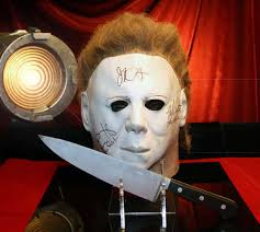 Halloween H20 Mask Uk halloween prop knife h20 signed jamie lee curtis autograph mask