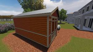 10x20 Shed Floor Plans by 10x20 Tall Gable Shed Plan