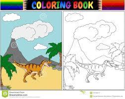 Coloriage Dun Tyrannosaure Un Dinosaure Effrayant Dessiné Avec Des