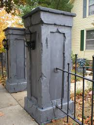 Halloween Graveyard Fence by Skull Wood Fence Diy Google Search Cemetery Entrances For