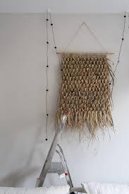 wandgestaltung fürs wohnzimmer deko ideen im boho stil