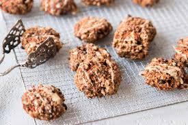 karotten cookies ohne mehl glutenfrei vegan