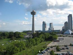 Skylon Tower Revolving Dining Room by Niagara Falls And The Skylon Tower Rotating Dining Room