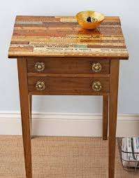 diy wooden table top wooden side table project
