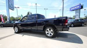 100 Blue Dodge Truck 2015 Ram 1500 Sport Midnight Pearlcoat FS543463 Mt