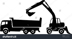Silhouette Excavator Dump Truck Vector Illustration Stock Vector ... How To Draw Dump Truck Coloring Pages Kids Learn Colors For With To A Art For Hub Trucks Boys Make A Cake Hand Illustration Royalty Free Cliparts Vectors Printable Haulware Operations Drawing Download Clip And Color Page Online