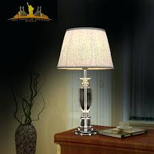 Crystal Table Lamps For Bedroom by European Table Lamps Crystal Table Lamps For Living Room Plus