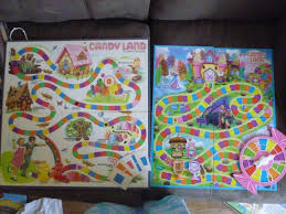 Candy Land Early 1980s Vs 2014 Boards
