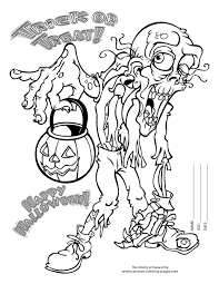 Gorgeous Halloween Coloring Pages Online Scary Clown In Within Scaryjpg Full Version