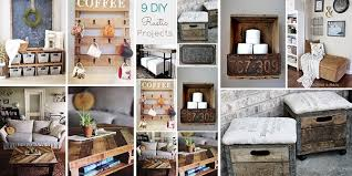 Rustic Home Decor Has Been Super Popular Lately I Hope You Can Find Some Inspiration From These Amazing Projects
