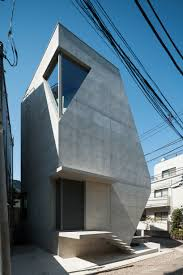 100 Atelier Tekuto Atelier Tekutos Exposed Concrete Home In Tokyo Displays A