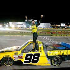 Grant Enfinger Gets Breakthrough NASCAR Truck Series Win At Las ...
