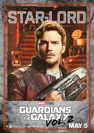 GUARDIANS OF THE GALAXY VOL 2 Character Poster