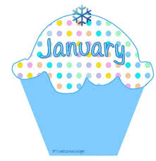 Cupcake clipart monthly 12