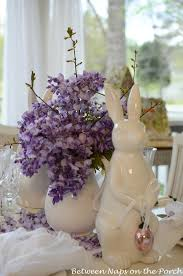 Easter Tablescapes Table Settings With Wisteria And Bunny ... Easter At Pottery Barn Kids Momtrends Easy Diy Inspired Rabbit Setting For Four Entertaing Made 1 Haing Basket Egg Tree All Sparkled Up Tablcapes Table Settings With Wisteria And Bunny Palm Beach Lately Brunch My Splendid Living Toscana Designs