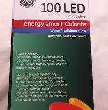 Ge Artificial Christmas Trees by Amazon Com Ge Energy Smart 100 Led C 6 Holiday Christmas Lights
