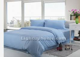 Sky Blue Bedding Sets Twin Full Queen King Size Bedding Cotton Bedding