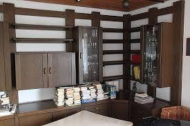 große wohnzimmer schrankwand eiche rustikal mit 2
