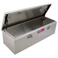 100 Diamond Plate Truck Box 59in Aluminum Storage Container With Lock Www