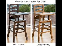 Light Wood Eddie Bauer High Chair by Solid Wood High Chair Solid Wood Baby High Chair Youtube
