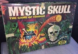 Image Is Loading Vintage 1964 MYSTIC SKULL Game Of Voodoo Board